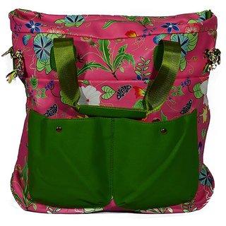 BagsHub Dark Pink Weekend Bag (B0471-0000400052-V004)
