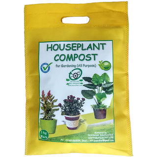PAYODHAR'S HOUSEPLANT COMPOST for Gardening Pack of 1 Kg. (All purpose)