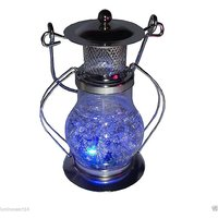 Atorakushon LED COLOR CHANGING DECORATIVE GEL HURRICANE DESIGNER LANTERN CANDLE FOR DIWALI