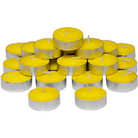 Mart And Set Of 100 Wax T-light Candles Tealights ( Multi Color )