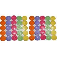 Tealight Candles 50Pcs ( Multi Color )