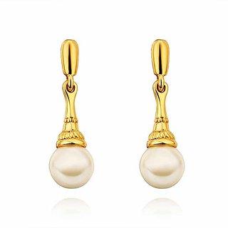 Aaishwarya 18K Gold Plated Pretty Pearl Drops