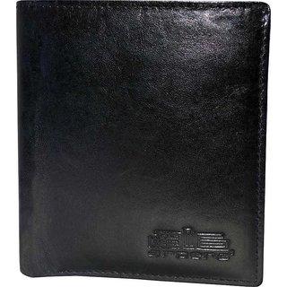 arpera Leather Mens Wallet C11429-1 Black