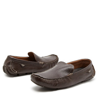 Redtape Lace Less Hassle Free Loafers (Brown)
