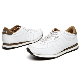 Spinn Track And Traction Running Shoes (White)