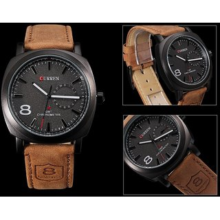 CURREN Luxury Sanghohub Fashion  Casual Quartz Wrist watch for man