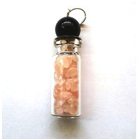 Diwali Special Sale! Rose Quartz Bottle Shape Pendant Chakra Healing Gemstone Crystal Jewelry