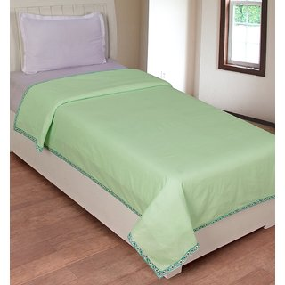 R-trendz Single Cotton Plain Top Sheet