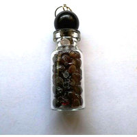 Diwali Special Sale! Garnet Bottle Shape Pendant Chakra Healing Gemstone Crystal Jewelry