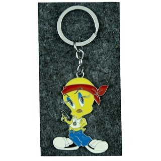 STYLISH COLLECTION IN CARTOON CHARACTER TWEETY KEYCHAIN/KEYRINGS/FOR BIKE, CAR,SCOOTY /GIFT