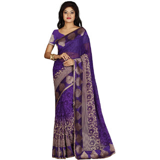 Tagbury Purple Georgette