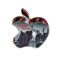 New York Apple Black Look Premmium Quality Stylish Refillable Cigarette Lighter
