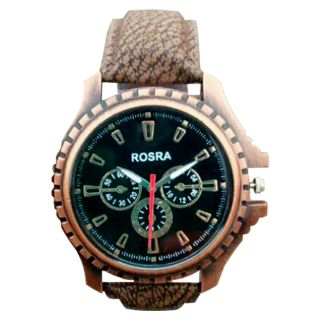 Rosra copper analog watch for men 39 s buy rosra copper analog watch for men 39 s online at best for Rosra watches