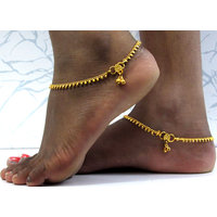 Golden Layer Anklet