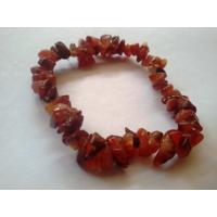 Diwali Special Sale! Carnelian Uncut Chip Gemstone Bracelet Chakra Healing Crystal Jewelry