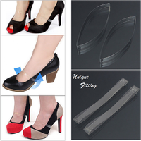 Invisible Elastic Silicone Transparent Shoelaces For High Heel Shoes Clear Shoe Laces Shoelace Straps Shoe Accessories