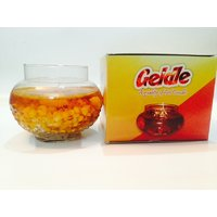 Gel Candle In Glass Handi