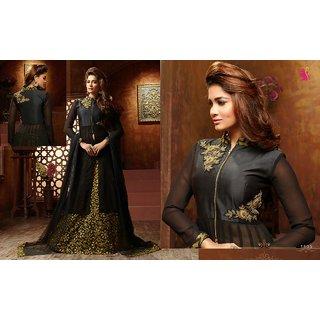 Veronica Readymade Fancy Indo Westend Dress Black
