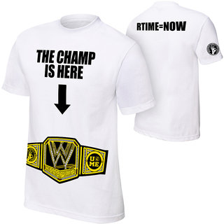 "John Cena ""The Champ Is Here""T-Shirt"