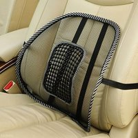 Pegasus Premium Mesh Ventilation Back Rest with Lumbar Support For Fortuner