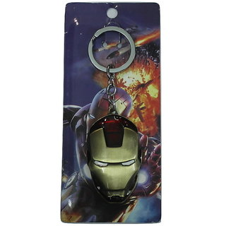 EXECLUSIVE IRON MAN DESIGN GOLD COLLECTION KEYCHAIN/KEYRINGS/FOR BIKE/CAR/GIFT