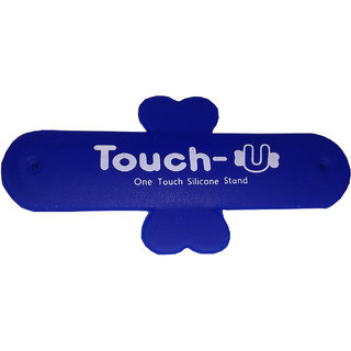 ColorKart Touch u Stand Mobile Holder Blue