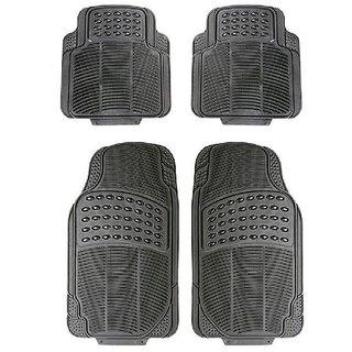 Varshine Rubber Foot Mats Grey For Chevrolet captiva