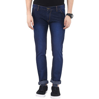 Ayan Fashion Garments Fashion Blue Slim Fit Stretch Jeans