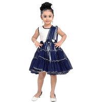 Aarika Girls Party Wear Premium Net Fabric Frock