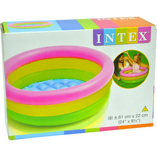 intex water tub inflatable pool 2ft diameter baby bath seat available at shopclues for. Black Bedroom Furniture Sets. Home Design Ideas
