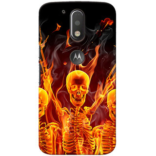 Ally Printed 3D Back cover for Moto G Plus, 4th Gen
