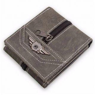 Military Dark Gray Multi Card Wallet