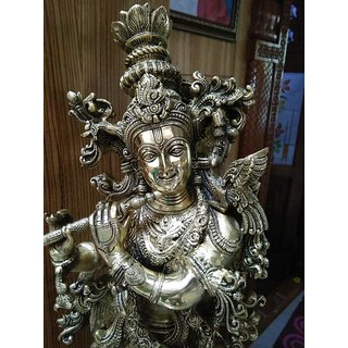 LORD KRISHNA STATUE 28 INCH HEIGHT, 15.4KG