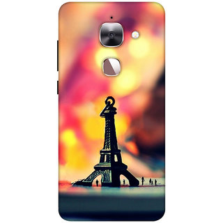 Ally Printed 3D Back cover for LeEco Le 2