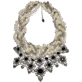 Jewel Touch Ivory Magic Alloy Necklace
