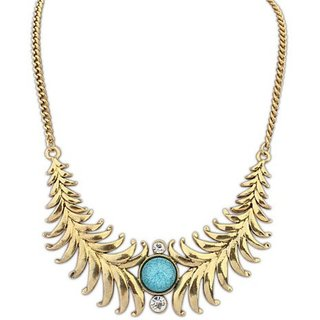 Jewel Touch Personality Exotic Geometric Alloy Choker