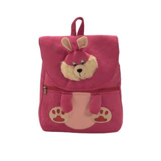 Ultra Bunny Face School Bag 14 Inches -Pink
