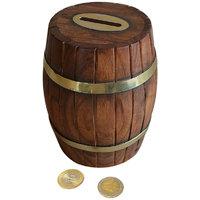 Fancy Vintage Barrel Shaped Large Money Bank Kid Kids Gift Piggy Coin Box Gift