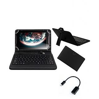 Krishty Enterprises 7Keyboard for Asus T00E(PF400CG) Tablet Black with OTG Cable