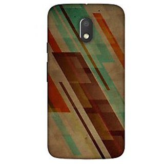 Ally Printed 3D Back cover for Motorola Moto E3