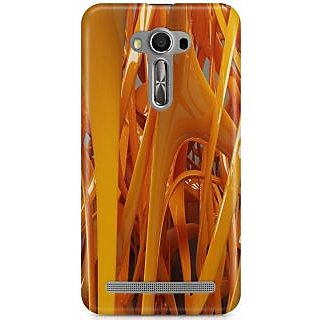 Hard Plastic Mobile Back Cover For ASUS Zenfone 2 Laser   1PC Free Flexible USB LED Light Lamp (Colors may vary)