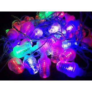 DIWALI DECORATIVE MULTICOLOR LED STRING BULB LIGHT FOR Puja Party Festival Indoor Decor Christmas new year