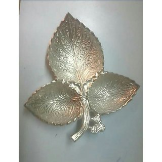 Brass n nickel palted  dry fruits box