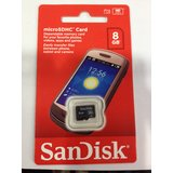 Sandisk Micro Sdhc Class 4 Memory Cards 8Gb Factory Sealed Pack
