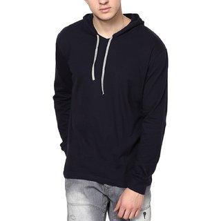 Men's Hooded Full Sleeve Cotton T-Shirt