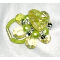 New Brand Fancy Hair Band  Light Green Color From Dubai