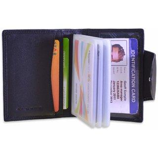 arpera black mens genuine leather card holder C11510-1