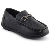 Kittens Boys Black Loafers (Pack Of 1)