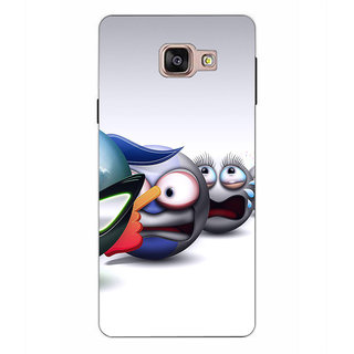 Instyler Premium Digital Printed 3D Back Cover For Samsung Galaxy A9