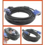 VGA To VGA MALE CABLE FOR PC / LAPTOP TO TFT / LCD PROJECTOR - 5 Meter